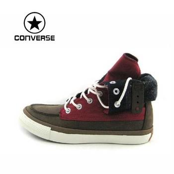 Конверс 100% оригинальный скейтборд обувь мужчин и женщин обувь конверс обувь кроссовки зима CS135244 бесплатная доставка
