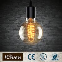Vintage Loft Retro DIY E27 Spiral Incandescent Light Handmade Fixture Glass LED Edison Bulbs 40W 110-240V Pendant Lamps Lighting