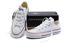 Converse All STAR  LOW Style men WOMEN Sneakers Classic Casual Canvas sport Shoes(China (Mainland))