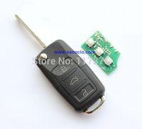 VW Passat , Bora , Polo 3 button flip remote key 315mhz , model: 1J0959753DJ