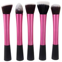 2014 New Sixplus Synthetic Kabuki Kit 5 pcs Makeup Brushes, High quality Professional make up brush set