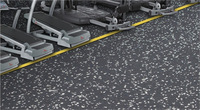 cheap and high quality gym rubber flooring