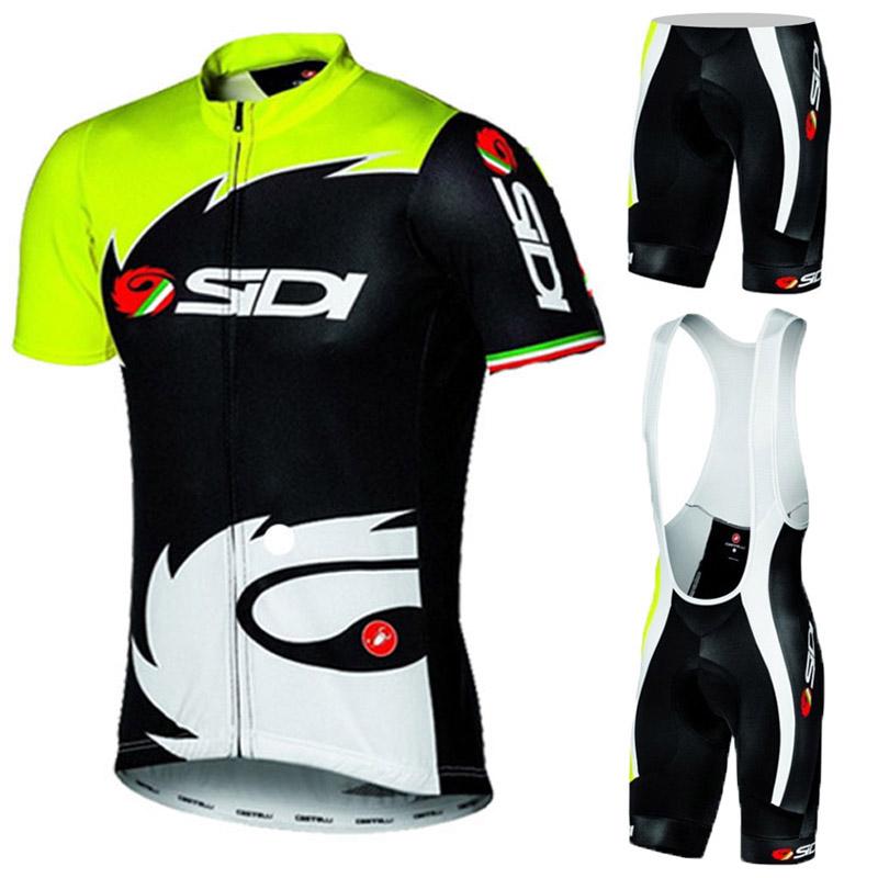 Summer Breathable Cycling Clothing/Quick-Dry Racing Bicycle Jerseys Ropa Ciclismo/Lycra GEL Pad Mountain Bike Bib Pants(China (Mainland))