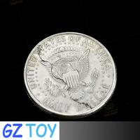 Bite and Restore Coin Biting/Folding Coin/magic tricks/magic coin/magic toys