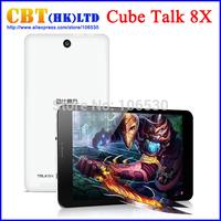 """Cube Talk8X Talk 8X 3G Phone Call Tablet PC 1GB RAM 8GB ROM MTK8392 Octa Core 2.0GHz 8"""" 1280x800 IPS 2.0MP GPS OTG Android 4.4"""