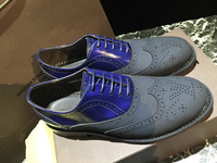 High-End Customized Italian Handmade Cowhide Men Oxfords Flat Shoes,Luxury Brand Designer Genuine Leather Lace-UP Dress Shoes
