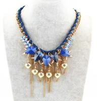 2015 New Arrival Sweet Elegant Women Bohemian Necklaces Bib Choker colar Necklace Pendant!Free shipping