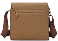 2015 new style canvas men messenger bag casual shoulder bag korean style student school bag