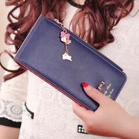 New design PU leather women wallet,Multiple function women purses,hot sale card holder wallet