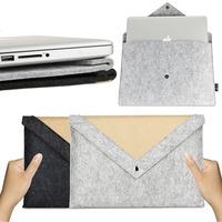 "Carrying Ultra Thin Light Weight Hand Made Felt Laptop Case Bag Notebook Pouch for Macbook Air 11"""