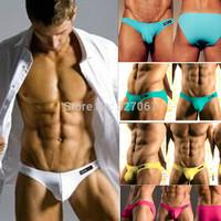 5PCS/Lot Fast Shipping Cocksox Men's Briefs High Quality Lycra Cotton Men's Underwear 5*Colors