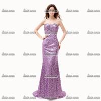 Spring 2015 Tulle Strapless Evening Dress Full Regular Scoop Royal Blue Evening Dress Party Dresses for Women Summer
