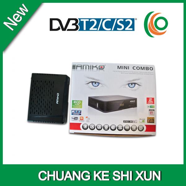 bestseller FTA TV H.264 decoder box HD digital combo receiver dvb-s2 dvb-t2 dvb c(China (Mainland))