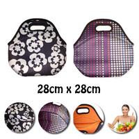 2015 new style Bag Lunch Box Neoprene lunch bag cooler bag lancheira termica infantil bolsa termica bolsa de franja 28*28*14cm