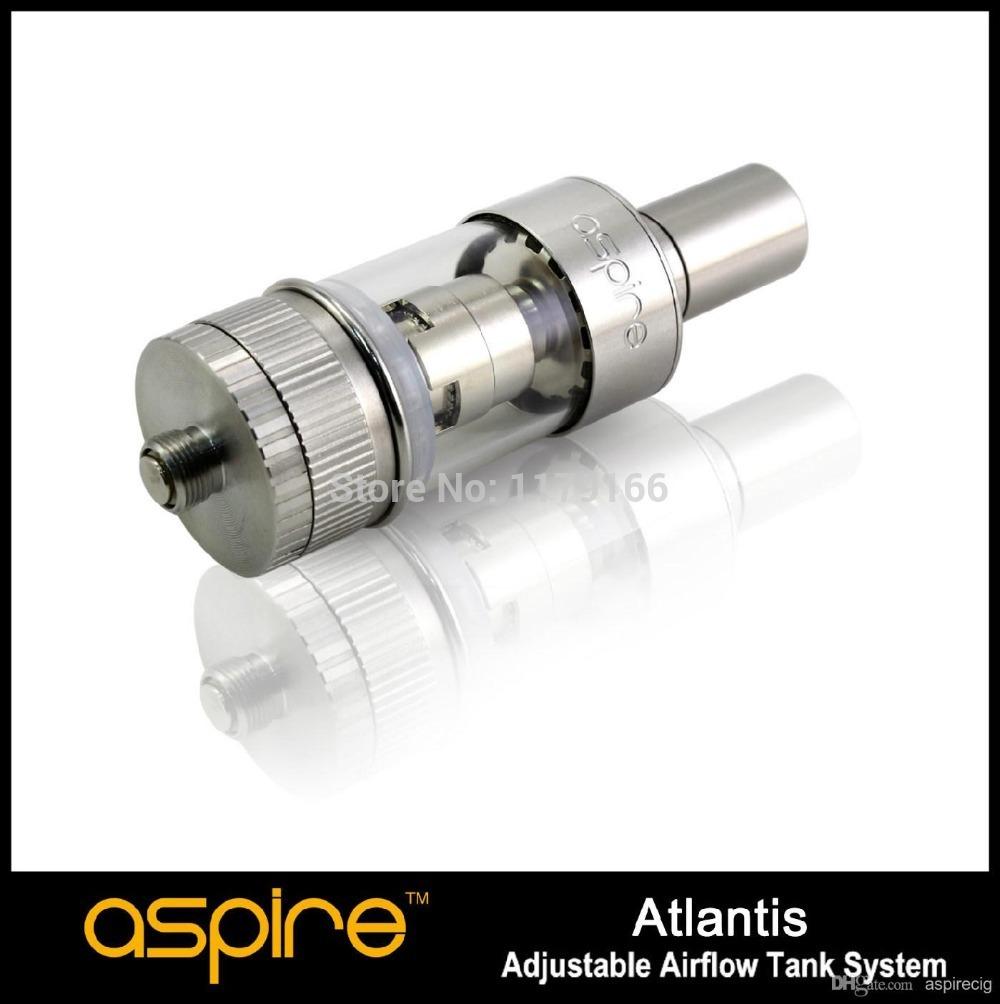 Original In stock!!! Aspire Newest Product Atlantis Sub oHm Tank Aspire Atlantis Kit RDA Atomizer Tank With 0.5ohm BVC Coils(China (Mainland))