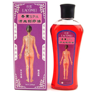 Traditional Chinese lady facial massage oil scraping oil aromatherapy SPA regulation main collateral promote blood circulation(China (Mainland))