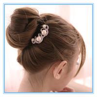Hair Cystal Diamond Hair Rhinestones ClaspCombs Women Flower Hair Pin Hair Clip Headwear Accessories E-Sunny Jewelry