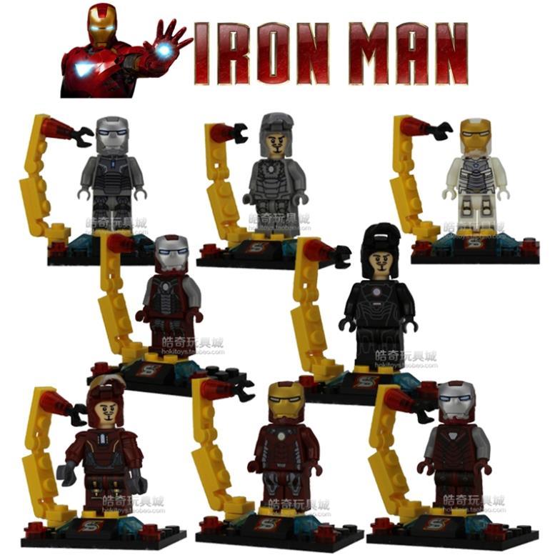 New Lego Sets 2015 8pcs Set 2015 New Marvel Iron
