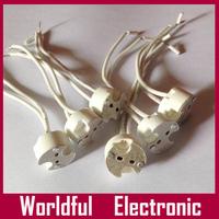 Wholesale 100pcs/lot MR16 base socket Ceramic MR11/MR16/G4/GU5.3 LED Bulb base holder LED Lamp Adapter Converter Holder