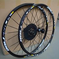 Original MAVIC CROSSRIDE 26'' 24 Holes MTB Mountain Bikes Bicycles Disc Brake Wheel Wheelset Rim Parts