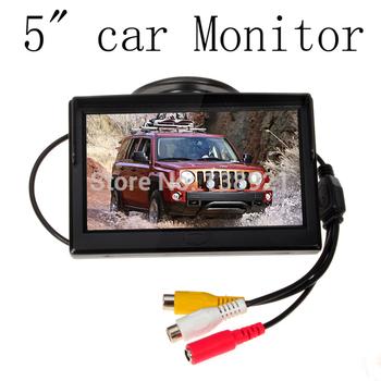 Hd 800 * 480 автомобиля TFT жк-монитор 5 дюймов монитор автомобиля электронный экран 2ch видео с автомобилей заднего вида камеры оборудование