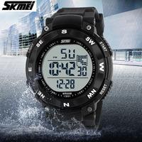 Hot sale Skmei 1024 Men LED Digital Sports Military Watches Fashion Dress Brand Sports Watch Swim Casual Wristwatches