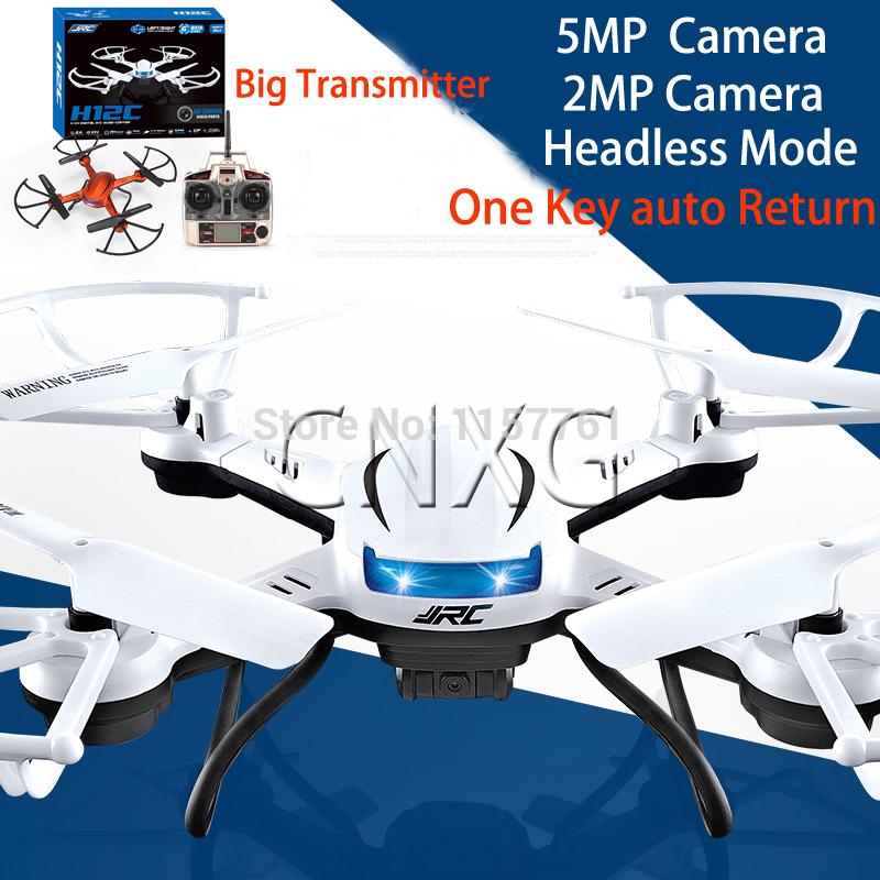 JJRC H12C Mini Phantom 2 Drone 2.4G 4CH Headless Mode One Key Auto Return RC Quadcopter with 5MP Camera vs X5C H8C(China (Mainland))