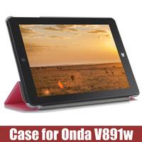 tablet pc cover case for ONDA V891W case cover  pu filp case cover 8.9inch   for ONDA V891w Case