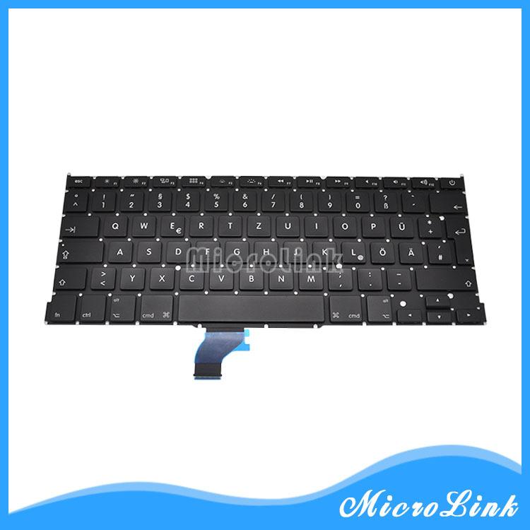 "New FITS MacBook Pro Retina 13"" A1502 GR DE German Deutsche Tastatur Keyboard(China (Mainland))"
