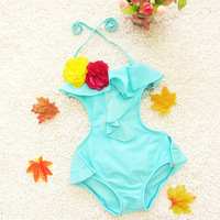New Arrival Retail Girls Baby Swimwear Toddler Swimsuit One-piece Size 2-9Years Tankini Bathing Tutu