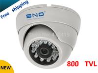 free shipping!sno cctv camera HD 800TVL sony cmos ccd cctv cam IR surveillance camera security camera wholesale dome cameras