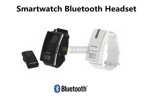 Link Dream Smartwatch Separate Design Bluetooth V3.0 Headset Smart Sport Watch Bracelet Earphone for iPhone Samsung HTC(China (Mainland))
