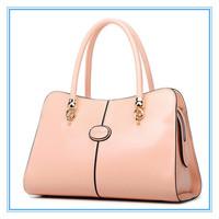 Fashion Designer Brand  Vintage Handbag Fashion Bags Patchwork Nubuck Leather Women Handbag Smiley Shoulder Bags