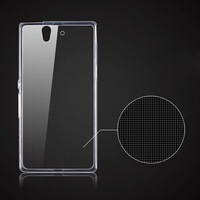Phone Cases For Sony Xperia Z L36h C6603 C6602 Case Soft Gel Tpu Cover For L36h Ultra Thin Clear Crystal Transparent Capa Para