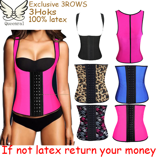waist training corsets hot shapers body shapers waist trainer latex waist cincher corpetes e espartilhos latex waist trainer(China (Mainland))