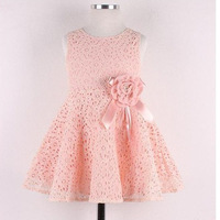 Fashion Kids Girls Toddler Baby Lace Princess Party Dresses Clothes 2-7Y