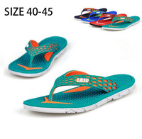New 2015 Summer Men's Sandals EVA Shoes Fashion Flip Flops Male Flats Massage Beach Slippers sandalia masculino Plus Size MS3052