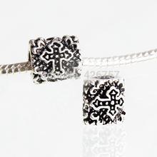 2015 Fashion charm European Beads 1 pcs Antique Silver Fit Pandora Bracelet necklace Jewelry Accessories