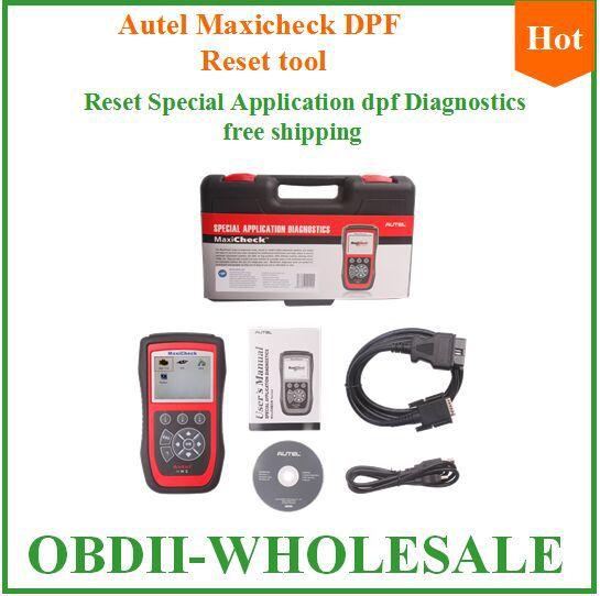 Newest coming DPF maxicheck Multilingual menu Autel DPF MaxiCheck Reset Special Application Diagnostics On promotion(China (Mainland))