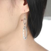 YSM Brincos Grandes, 925 Sterling Silver earrings, High Quality Guarantee, SE0005