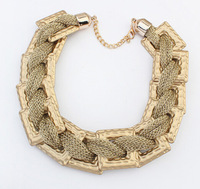Chunky Chain Necklace  Personality Geometric Choker Necklace New Fashion Statement Necklace BJN912546