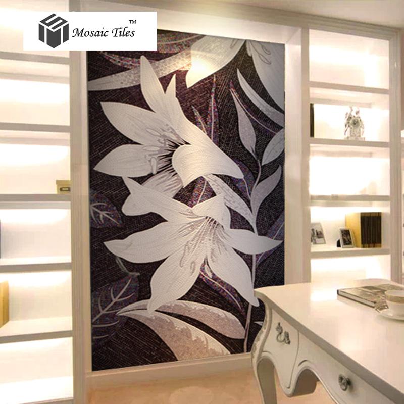 Flower Tiles Kitchen Mosaics Tile Kitchen