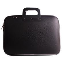 Hot sale Laptop bag fashion leather computer handbag 16 inch men and womens New Design Laptop handbags bg0290
