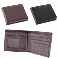 Free Shipping!New  High Quality Men Wallets Genuine Leather Short  2 Colors Wallets  Men Purses Wallets  C3337