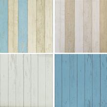 Realistic Vingtage Wood Panel wallpaper retro wall paper Wood Wallpaper roll: White,Grey, Blue(China (Mainland))