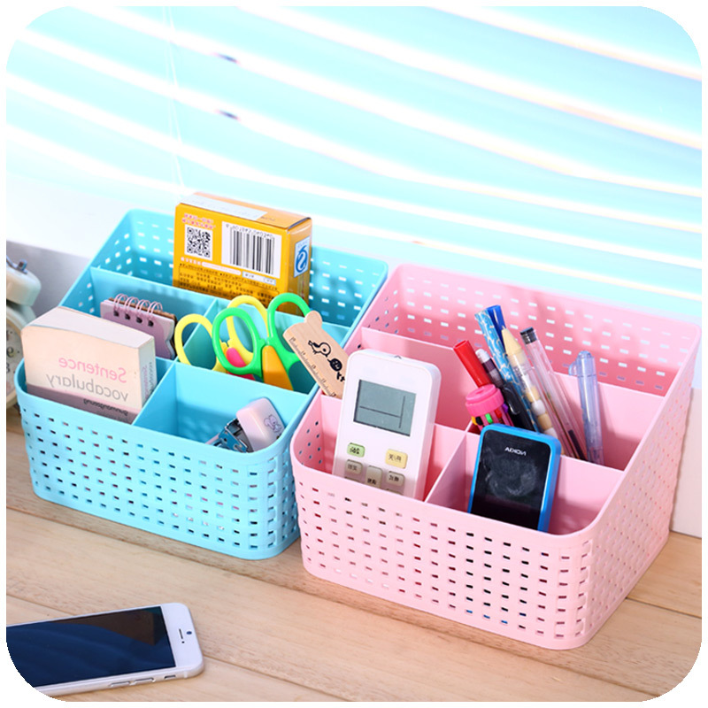 Cute desk organizer jewelry storage bins makeup cosmetic - Desk organization accessories ...