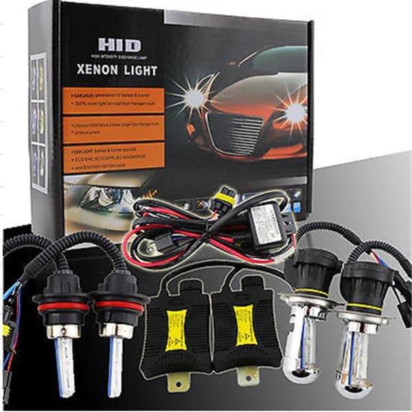 5pc/lot !55W HID XENON light KIT Slim Ballasts car lamp slim H4 9004 9007H/Low 3000k 4300k 5000K 6000K 8000K 10000K 12000K(China (Mainland))
