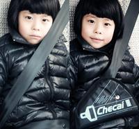 Free Shipping EMS 100PCS child car safety belt adjust device auto safety belt for kids protector seats belt