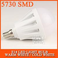 LED E14 LED Lamp bulb led light 5730SMD 3W 5W 10W 15W 20W AC220V 230V 240V Cold white/warm white