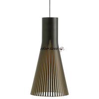 Modern Simple Wood Secto Pendant Light Fixtures Designer  Seppo Koho Lighting PL106